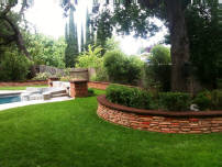 Cobblestone Pavers made by the Murray family with our concrete paver moulds.